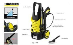 Điều gì giúp máy rửa xe Karcher chinh phục người dùng?