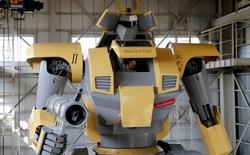 Kỹ sư Nhật đam mê truyện tranh, tự chế tạo robot giống với nhân vật trong bộ truyện Mobile Suit Gundam