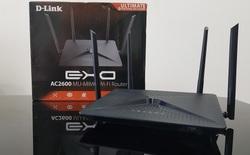 D-Link EXO AC2600: chiếc router có hình dáng không mấy ấn tượng này lại là một thiết bị mạng chuyên về giải trí dành cho game thủ