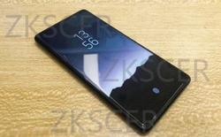 Lộ ảnh thực tế Xiaomi Mi MIX 2S, hoàn toàn không viền, không tai thỏ, có cảm biến vân tay dưới màn hình