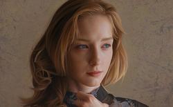 Nhìn qua cứ ngỡ là ảnh chụp những cô gái xinh đẹp, thế nhưng các tác phẩm này lại là tranh vẽ của một họa sĩ Nhật Bản tài hoa