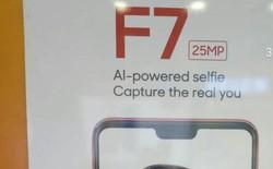 Rò rỉ quảng cáo Oppo F7, xác nhận camera selfie 25 MP tích hợp AI, màn hình có tai thỏ