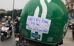 """Đặt pass wifi """"cho em 5 sao nhé"""", tài xế GrabBike chiếm trọn cảm tình của Internet"""