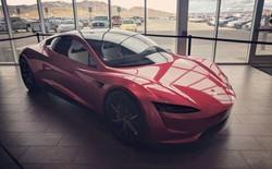 """[Ảnh] Hé lộ loạt ảnh cực """"chất"""" về siêu xe Tesla Roadster, dự kiến ra mắt vào năm 2020 tới"""