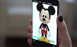 Mickey và Minnie Mouse đã xuất hiện trên AR Emoji của Galaxy S9/S9+