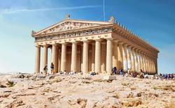 Đã mắt với bộ ảnh GIF tái hiện lại như cũ những công trình kiến trúc cổ đại