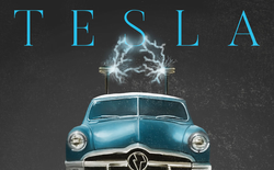 Nếu được tạo ra vào năm 1950, quảng cáo xe điện Tesla trông sẽ như thế này