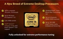 Bộ vi xử lý Intel® Core™ X-series – Chơi và làm việc đều thỏa mãn