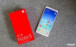 Trên tay Xiaomi Redmi Note 5 with AI tại Việt Nam: Cấu hình cực tốt, camera kép xóa phông, màn hình FullView, giá khoảng 7 triệu