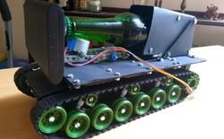 Tương lai là đây, xe tăng phục vụ bia được điều khiển bằng trợ lý ảo Alexa