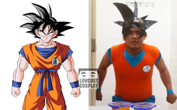 [Vui] Qùy lạy với bộ ảnh cosplay Dragon Ball Z siêu hài hước của anh chàng Thái Lan