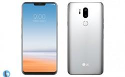 """Xuất hiện bộ ảnh render LG G7 với """"tai thỏ"""" và màn hình gần như không viền"""