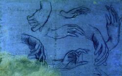 Phải dùng đến tia hồng ngoại, người ta mới phát hiện ra tác phẩm của Leonardo da Vinci ẩn giấu ngay dưới tờ giấy tưởng như trống trơn