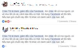 """Những cảnh báo về """"Facebook mất phí sử dụng"""" đều là giả mạo"""