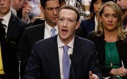 """CEO Facebook """"vượt ải"""" qua 10 tiếng điều trần trước quốc hội Mỹ"""