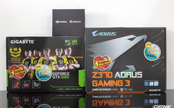Mở hộp Gigabyte GeForce GTX 1060 phiên bản giới hạn Gigabyte Marines