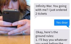 """Đặt ra 6 quy tắc khắt khe trước khi đưa bạn gái đi xem """"Avengers: Infinity War"""", chàng trai được Internet ủng hộ nhiệt liệt"""