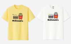 Uniqlo hợp tác với McDonald's ra mắt bộ áo phông siêu dễ thương, mặc đi ăn sẽ được giảm 21.000 đồng