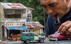Nghệ sĩ Malaysia khiến Internet suýt xoa vì khả năng mô phỏng ký ức tài tình bằng mô hình