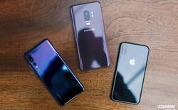 So găng thiết kế Huawei P20 Pro, Galaxy S9+ và iPhone X: Mỗi người một vẻ, mười phân vẹn mười