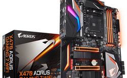Gigabyte ra mắt loạt bo mạch chủ AORUS X470, hỗ trợ tối đa CPU Ryzen thế hệ thứ 2 của AMD