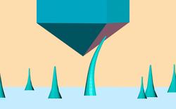 Các nhà khoa học tạo ra thành công kim cương dạng sợi nano, có thể bẻ cong mà không lo bị gãy