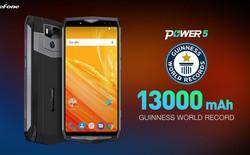 """Hãng Trung Quốc ra mắt mẫu smartphone pin 13.000 mAh, """"trâu"""" nhất thế giới với hai cụm camera kép cao cấp"""