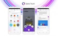Opera công bố Opera Touch - trình duyệt di động mới được tối ưu để sử dụng một tay