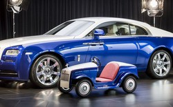 """Đằng sau siêu xe """"tí hon"""" Rolls-Royce là câu chuyện bất ngờ và đầy ý nghĩa"""