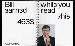 Đây là font chữ lấy cảm hứng từ thời niên thiếu hacker của Bill Gates