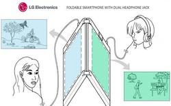 LG nộp bằng sáng chế smartphone gập gồm 2 màn hình, 2 pin và 2 jack headphone
