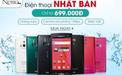 Nemo.vn tặng 5 Smartphone Nhật cho 5 khách hàng may mắn