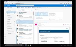 Sau khi Google thiết kế lại Gmail, Microsoft cũng tiết lộ nhiều tính năng mới của Outlook