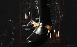 """Lộ diện mẫu boots """"Chạy Ngay Đi"""" đồng sáng tạo với Sơn Tùng M-TP, làm từ da thật nhập Ý, chỉ có 4 đôi trên toàn quốc"""