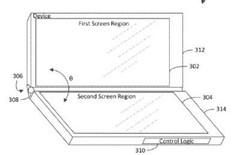 Microsoft hé lộ bằng sáng chế Surface Phone với 3 màn hình có thể gập lại được