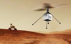 Drone trực thăng nhỏ gọn của NASA sẽ bay trên bầu trời Sao Hỏa