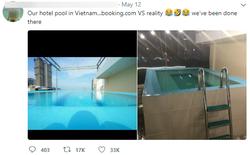 Háo hức book khách sạn qua mạng vì hồ bơi đẹp, cô gái khóc thét vì thực tế quá tàn nhẫn
