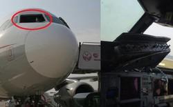 Kính chắn gió bị xé toạc trên độ cao 9700m, máy bay của Sichuan Airlines phải hạ cánh khẩn cấp
