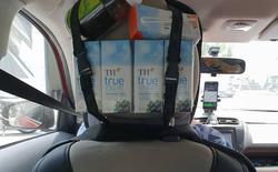 Tài xế Grab tại Sài Gòn mở quầy tạp hoá trong xe, miễn phí cho tất cả khách hàng