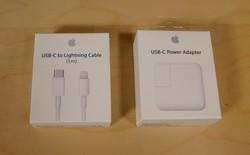 Apple bất ngờ giảm giá cáp sạc USB-C, sẵn sàng khai tử cáp USB-A ngay trong năm 2018