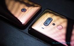 Ảnh cận cảnh HTC U12+ mới ra mắt: Thiết kế cao cấp, mặt lưng kính bóng bẩy, hai màu sắc mới ấn tượng