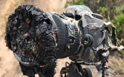 """Vụ phóng tên lửa SpaceX Falcon 9 vừa qua không gây thiệt hại về người, nhưng đã có một máy ảnh """"tử nạn"""""""