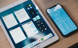 Dùng iPhone X và iPad cùng một lúc thật là khó chịu