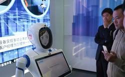 Thượng Hải có ngân hàng tự động với VR, robot và công nghệ quét khuôn mặt