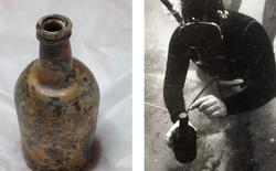 Con tàu đắm 220 năm tuổi ở Châu Đại Dương hé lộ loại bia chưa từng xuất hiện trong thế giới hiện đại