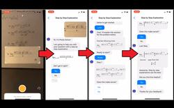 Ứng dụng của người Việt cho phép giải bài toán cao cấp trong một nốt nhạc mà chỉ cần chụp ảnh lại bài toán