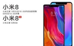 Xiaomi Mi 8, Mi 8 SE lộ ảnh báo chí và thông tin đặt hàng trước ngày ra mắt