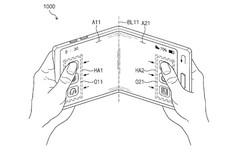Samsung nhận bằng sáng chế cho smartphone có thể gập với màn hình trong suốt