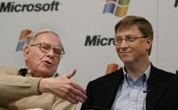 Vì sao Buffet rất chuộng cổ phiếu Apple nhưng lại nói không với Microsoft?