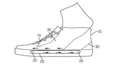 Nike nộp bằng sáng chế về hệ thống băng chuyền trong đế giày, giúp xỏ/tháo giày dễ dàng hơn